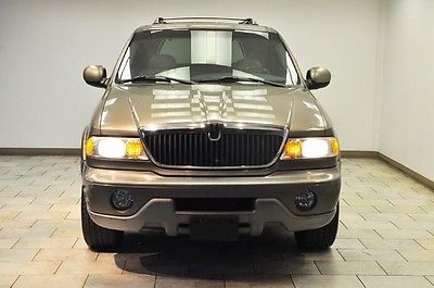 Lincoln : Navigator Base Sport Utility 4-Door 2001 lincoln navigator low miles 3 rd row