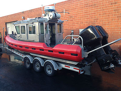 2004 Safe Boat International 250 Defender Class with 250 HP Mercury 340 hours