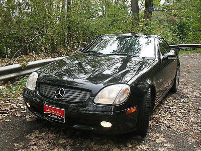 Mercedes Benz Slk kompressor convertible 2 door cars for