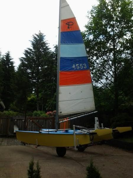 16' 1981 Prindle Sailboat