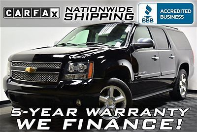 Chevrolet : Suburban LTZ 4x4 Loaded 4WD Nav DVD 5 Year Warranty Nationwide Shipping Leather 3rd Row Truck SUV