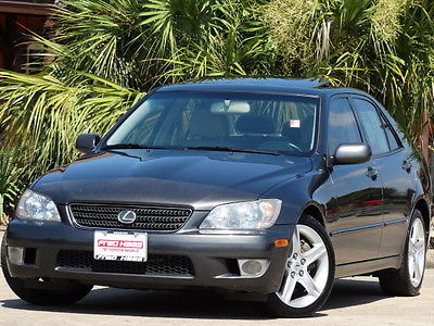 Lexus : IS Base Sedan 4-Door 2005 lexus is 300 base sedan 4 door 3.0 l leather sunroof serviced