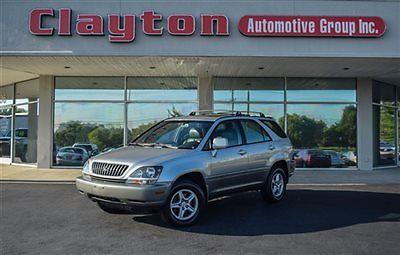 Lexus : RX 4dr SUV 4WD 1999 lexus rx 300 awd 3.0 l v 6 1 owner clean carfax dealer serviced new tires