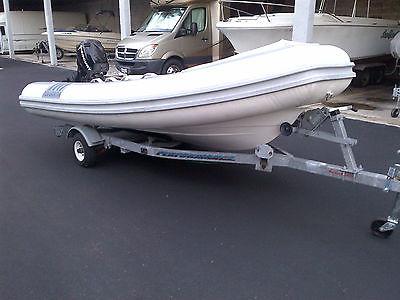 2001 Novurania 400TR Inflatable Rib Boat