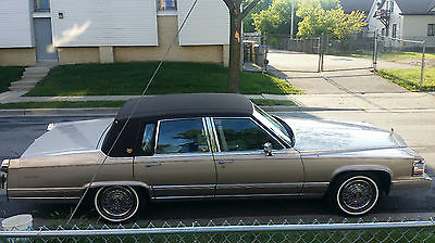 Cadillac : Brougham D'Elegance Collector's 1990 Cadillac Brougham D'Elegance - Excellent Condition *Low Miles*