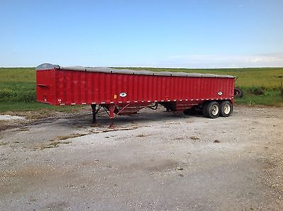 hopper bottom grain trailer