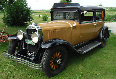 Buick : Other 4 door Close Coupled Model 51 Sport Sedan 1929 buick model 51 close coupled sport sedan