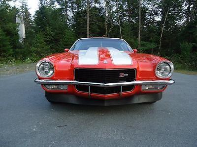 Chevrolet : Camaro 1970 camaro z 28 tribute hugger orange 4 speed posi rear