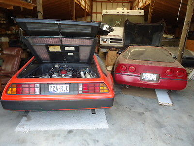 MG : MGB LIMITED EDITION DOZEN MGs, CORVETTE, PORSCHE, DELOREAN, and PARTS GALORE, BARN FIND ALL INCLUDED