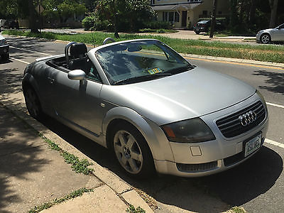 Audi : TT Base Convertible 2-Door 2001 audi tt roadster convertible