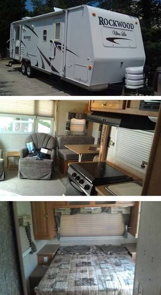 2008 29.3' Rockwood Ultralite 2604S w/slide