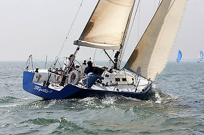 1993 Dobroth designed built by Wiggers 41 foot racing PHRF 54 open transom