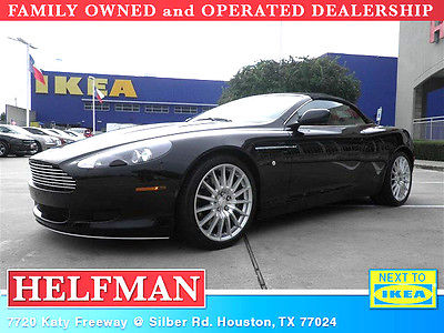 Aston Martin : DB9 Volante LUXURIOUS CONVERTIBLE - EXTREMELY CLEAN  * LOW MILES *  *BISON BRWN LTHR INT. *