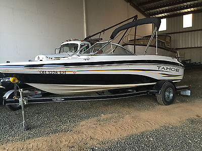 2007 TAHOE Q4 SPORT BOAT W/ TRAILER  30 HRS COMPLETE **NICE**