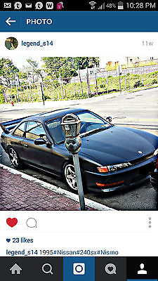 Nissan : 240SX SE 1995 240 sx se kouki front end and rear bumper