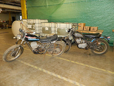 Harley-Davidson : Other 2 vintage 1970 s amf harley davidson enduro project motorcycles sx 175 sx 250