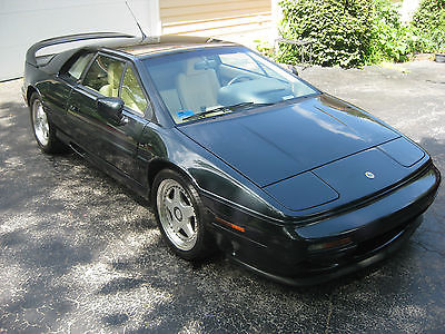 Lotus : Esprit S4s Coupe 2-Door 1995 lotus esprit s 4 s rare dark green low miles
