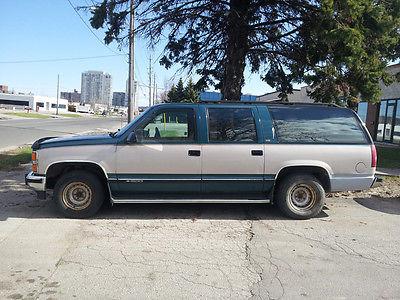 Chevrolet : Suburban 1500 1993 suburban