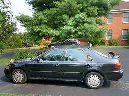 Honda : Civic EX Sedan 4-Door Honda Civic EX 1995