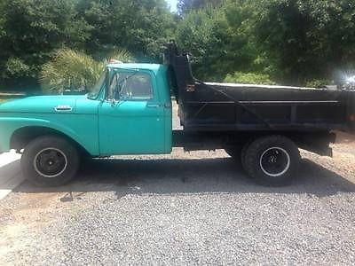 Ford : Other Pickups 2 Door F350 Dumptruck 1963 vintage ford f 350 dumptruck