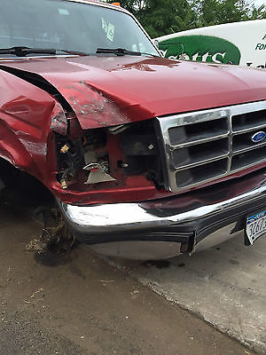 Ford : F-350 XLT Extended Cab Pickup 2-Door 1993 ford f 350 7.3 non turbo diesel dual rear wheels wrecked
