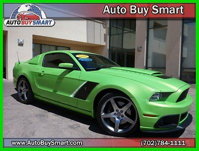 Ford : Mustang GT ROUSH **SMART BUY** **LOOK** 2013 gt used 5 l v 8 manual rwd coupe premium roush