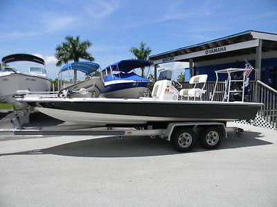 2009 Shearwater X2200 Bay Boat Flats Boat 250hp Mercury Pro XS 250HRS Like New