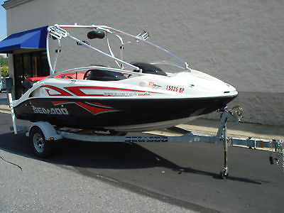 2007 Seadoo Speedster Wake Twin Rotax 430hp Sea-Doo Wake Tower