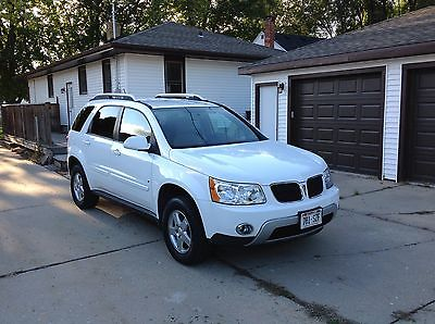 Pontiac : Torrent Base Sport Utility 4-Door 2008 pontiac torrent mid size suv white