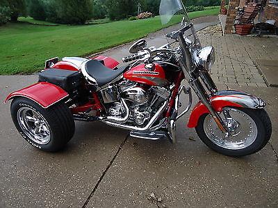 Harley-Davidson : Other 2005 harley davidson cvo trike fatboy screamin eagle 3 wheeler touring motorcycle