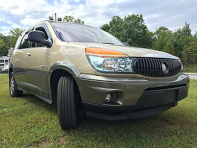 Buick : Rendezvous CXL Sport Utility 4-Door 2002 buick rendezvous cxl all wheel drive maryland state inspected like new