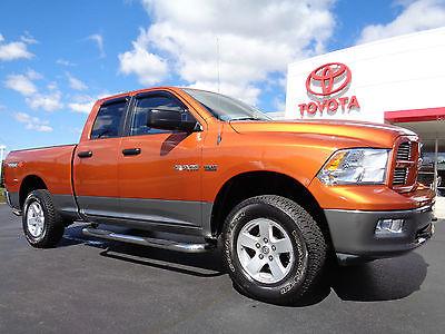 Dodge : Ram 1500 Quad Cab 5.7L Hemi V8 4x4 TRX4 Off-Road Orange 2010 ram 1500 quad cab 5.7 l hemi 4 x 4 trx 4 off road mango tango pearl 4 wd video