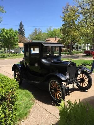 Ford : Model T 1922 ford model t coupe barnfind daily driver reliable tin lzzie henry steel