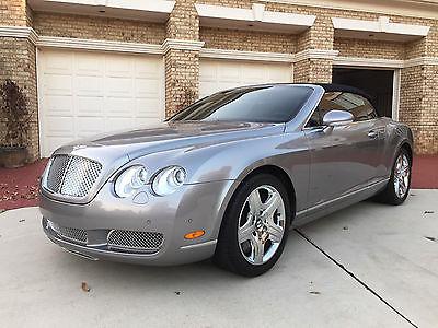 Bentley : Continental GT GTC Convertible 2-Door Bentley GTC Convertible: Pristine, Only 21K Miles, 2 Owners, See My Ebay Rating