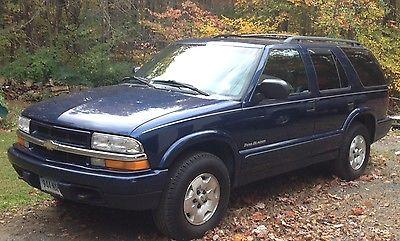 Chevrolet : Blazer Trailblazer 2001 blazer trailblazer 4 door 4 x 4