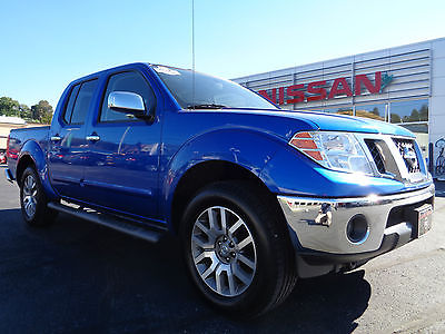 Nissan : Frontier Crew Cab SL 4x4 4.0L V6 Nav Leather Camera Hitch 2013 nissan frontier sl crew cab 4 x 4 navigation heated leather v 6 blue paint 4 wd