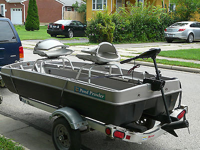 10 ft pond prowler with trailer