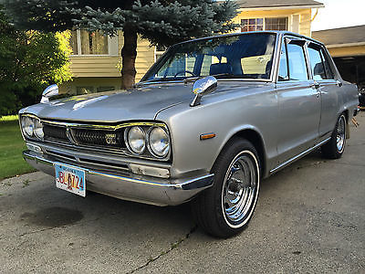 Nissan : Other 1800GL EXTREMELY RARE! 1972 Nissan Skyline 1800GL / NISMO specs /Twin SU/Hitachi Carbs