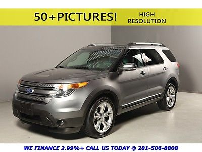 Ford : Explorer 2014 LIMITED 4X4 LEATHER HEATSEAT 7PAS REARCAM AWD 2014 ford explorer limited 4 x 4 leather heatseat 7 pass rearcam awd 3 rd row pdc