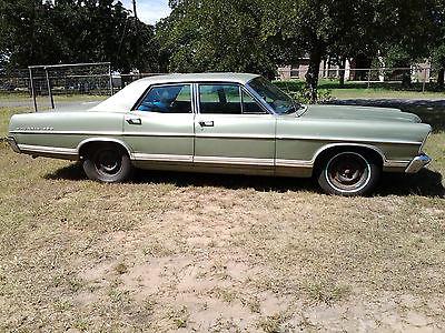 Ford : Galaxie Base 1967 ford galaxie 500 sedan 4 dr