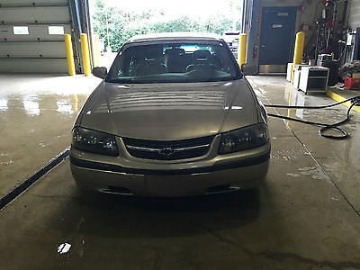 Chevrolet : Impala LS Sedan 4-Door POLICE SEIZURE/SOLD AS IS