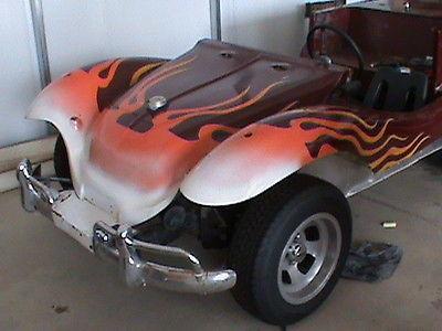 Volkswagen : Other Rare Dune Buggy Project- Front half Fiberglass back metal