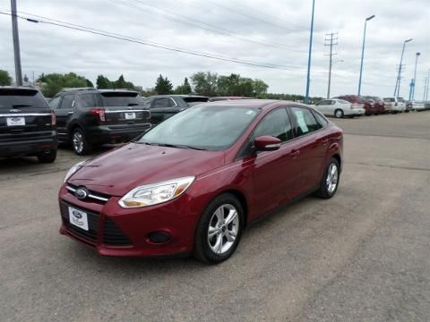 2014 FORD FOCUS 4 DOOR SEDAN