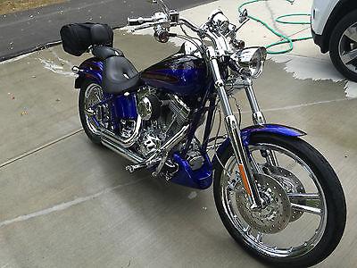 Harley-Davidson : Softail 2004 screaming eagle deuce 5 300 miles cobalt blue