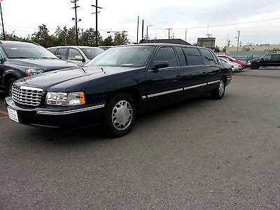 Cadillac  DeVille Livery 6 Door Limo 1998 cadillac 6 door deville livery limo 51 k & Cadillac Deville Limo Cars for sale