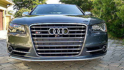 Audi : S8 4dr Sdn Heated/CooledSeats,360deg/Back-Up Cam,Turbo,GoogleNav,incarWIFI,fullDriverAssist