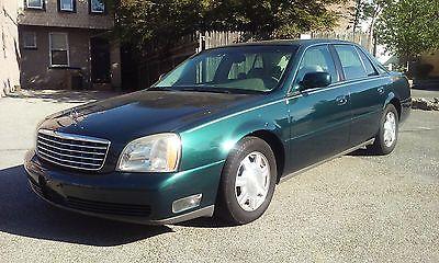 Cadillac : DeVille Sedan 4-Door 2004 cadillac deville green 91 000 original miles perfect carfax