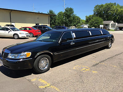 Lincoln : Town Car Executive 02 lincoln town car limo super nice 120 stretch 10 pax