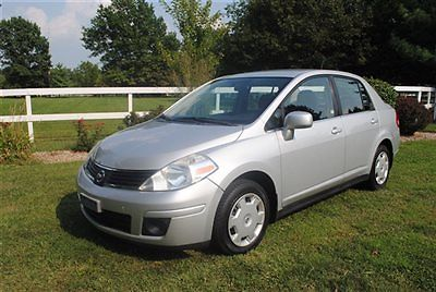 Nissan : Versa 4dr Sedan I4 Automatic 1.8 S 2007 nissan versa s 1 owner wow low miles look warranty dont miss out