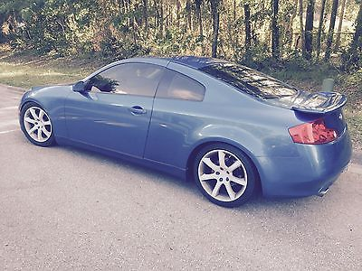 Infiniti : G35 Base Coupe 2-Door 2003 infiniti g 35 coupe 2 door 3.5 l leather nav very low miles 40 k miles
